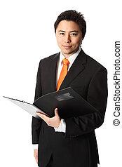 A working businessman