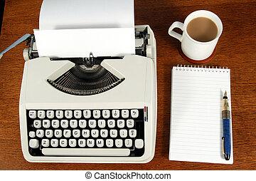 A writer\\\'s desk.