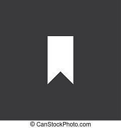 Yellow Icon Isolated on a Grey Background - Banner