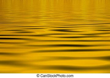 Yellow water Background