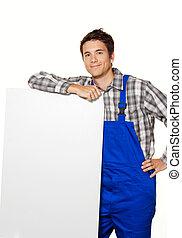 craftsman, plumber,