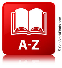 A-Z (book icon) red square button