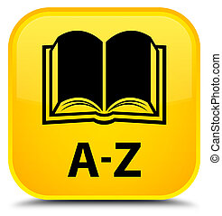 A-Z (book icon) special yellow square button