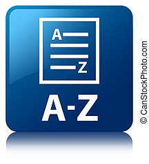 A-Z (list page icon) blue square button