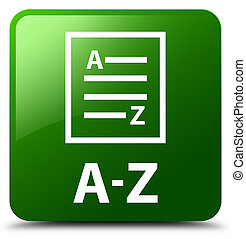 A-Z (list page icon) green square button