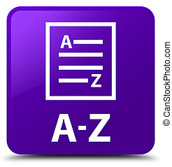 A-Z (list page icon) purple square button