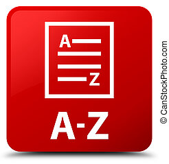 A-Z (list page icon) red square button