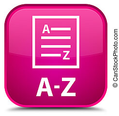 A-Z (list page icon) special pink square button