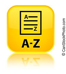 A-Z (list page icon) special yellow square button