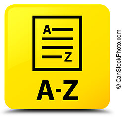 A-Z (list page icon) yellow square button