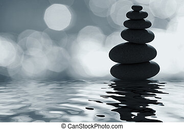 a, zen, közül, holdfény