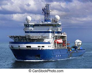 a1, icebreaker, costa afuera