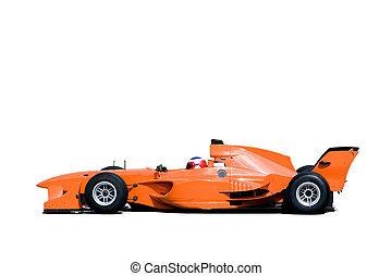 a1, prix, magnífico, coche de carreras