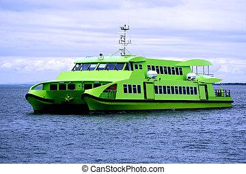 a1, transbordador, catamarán