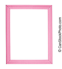 A4 size photo frame isolated - A4 size empty copyspace...