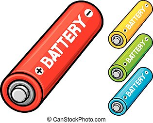 aa, 電池
