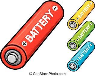 aa, batterien