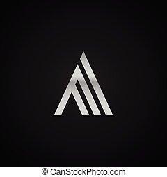 AA initial letter elegant Logo template vector creative...