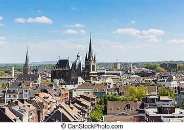 Verano Aachen aachen catedral invierno 5d unesco catedral herencia