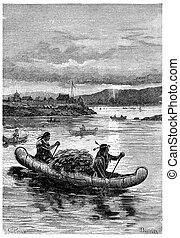 aan boord, deze, breekbaar, schepen, dat, indians, zijn,...