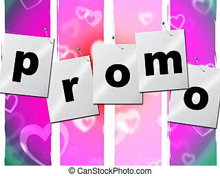 aanbod, promo, goedkoop, verkoop, indiceert, bevordering