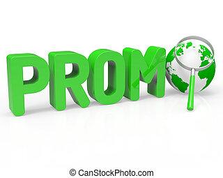 aanbod, promo, korting, spaarduiten, vergrootglas, optredens