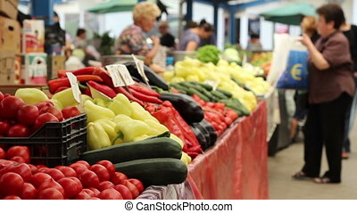 aankoop, organisch voedsel