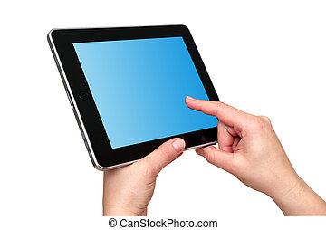 aanraakscherm, tablet