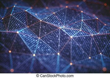 aansluitingen, abstract, technologie, achtergrond