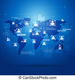 aansluitingen, globaal, mensen