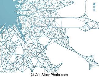 aansluitingen, web, grafisch ontwerp