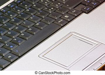 aantekenboekje, toetsenbord