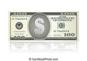 aantekening, dollar