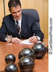 aantekeningen te schrijven