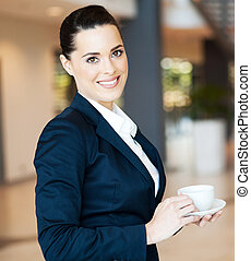 aantrekkelijk, moderne, businesswoman