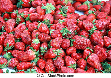 aardbeien, achtergrond