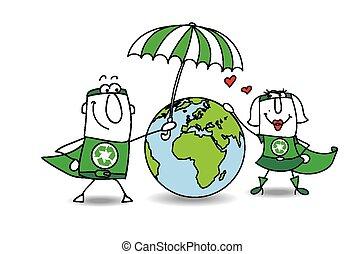 aarde, bescherming