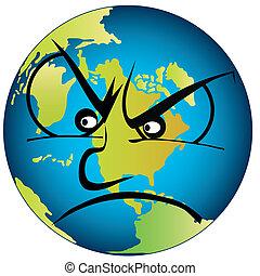 aarde, boos