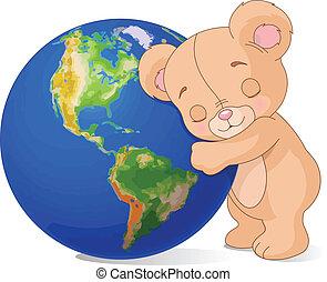 aarde, liefde, beer