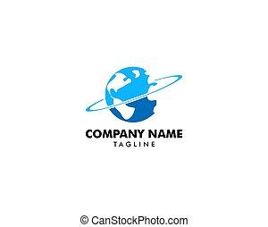 aarde, mal, logo
