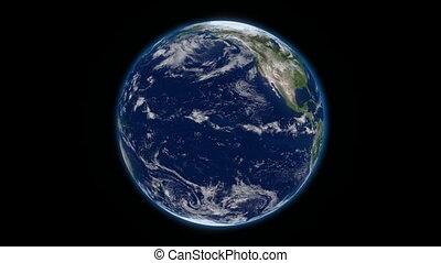 aarde, roteren