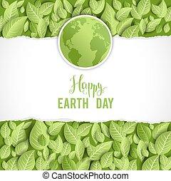 aarde, spandoek, dag