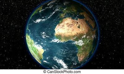 aarde, -, zoom, hd
