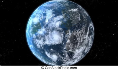aarde, zoom