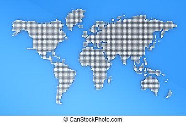 aardrijkskunde, kaart