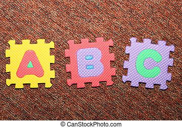 A,B, C