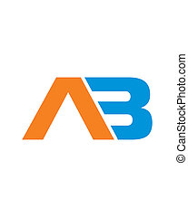 AB Initials Logo