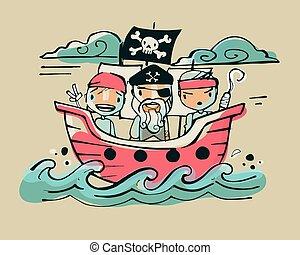 ab, piraten