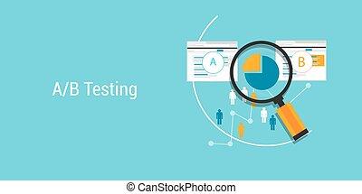 AB Testing web design and development testing metodology