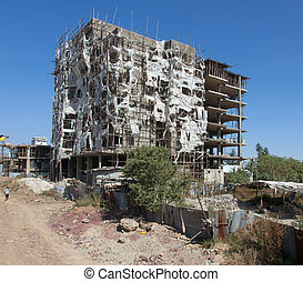 ababa, addis, bâtiment maison